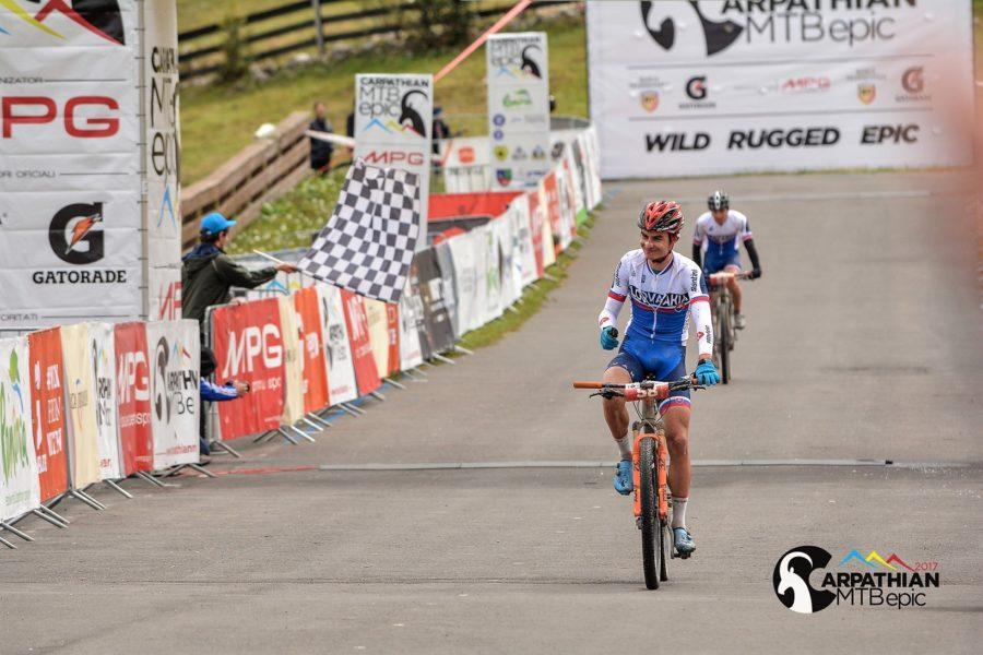 Carpathian MTB Epic 2017, etapa 2 - castigator Tomas Visnovsky