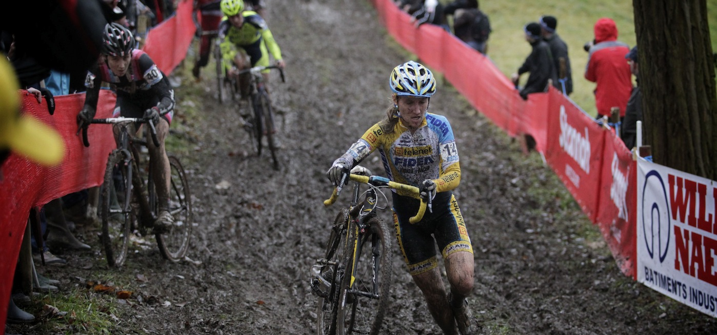 Worldcup cyclocross Leuven women 2012