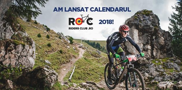 Calendarul Riders Club 2018
