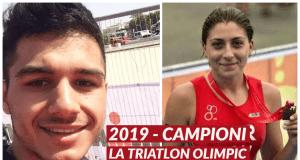 Campioni triatlon olimpic 2019