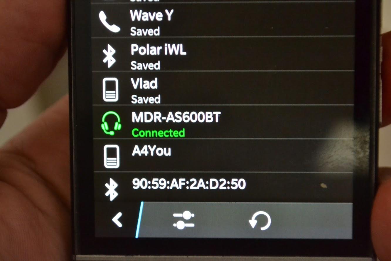 Casti wireless Sony - conectare smartphone