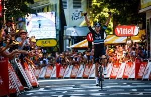 Chris Froome castiga etapa 8 Turul Frantei 2016