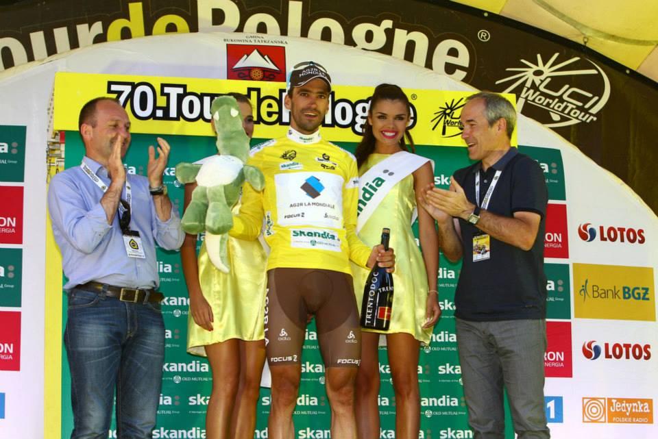 Christophe Riblon - tricoul galben in Turul Poloniei - etapa 6