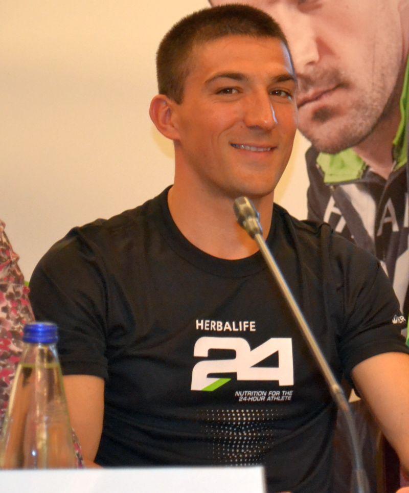 Ciprian Balanescu - ambasador Herbalife Triatlon Buftea 2014