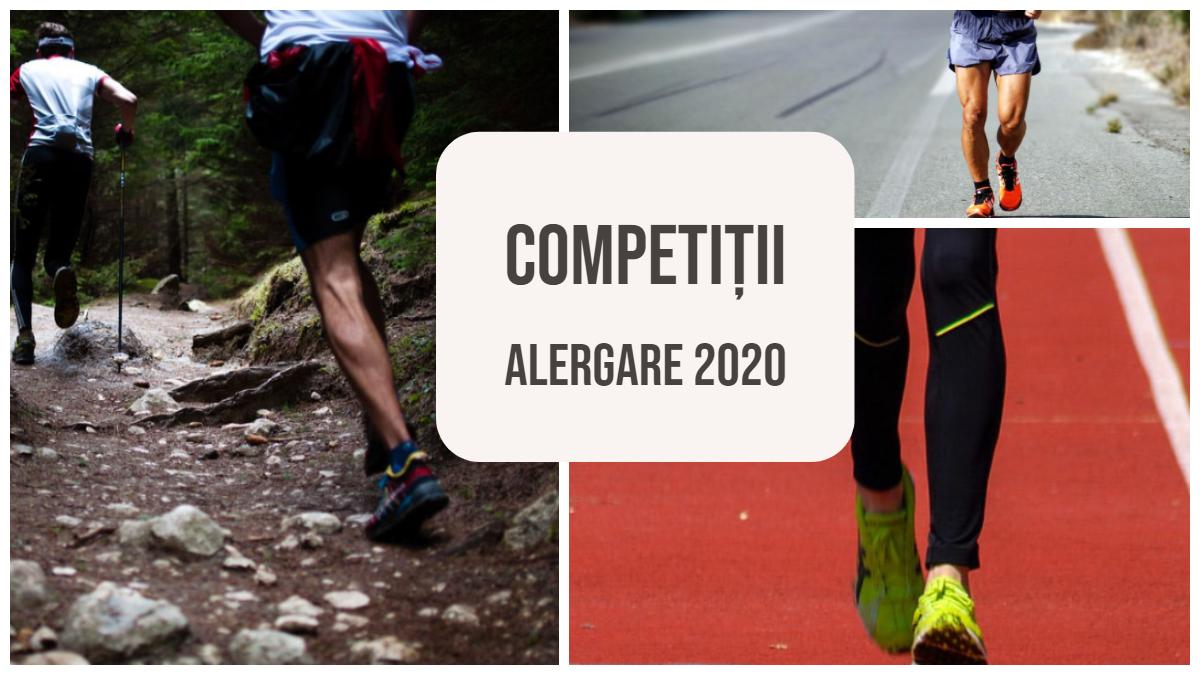 Competitii alergare 2020