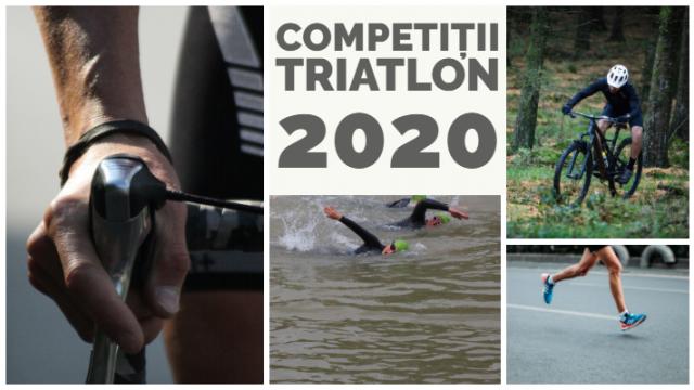 Competitii triatlon 2020