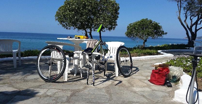 Concurs Thassos - pregatirea bicicletelor