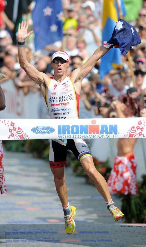 Craig Alexander - Ironman Kona 2011