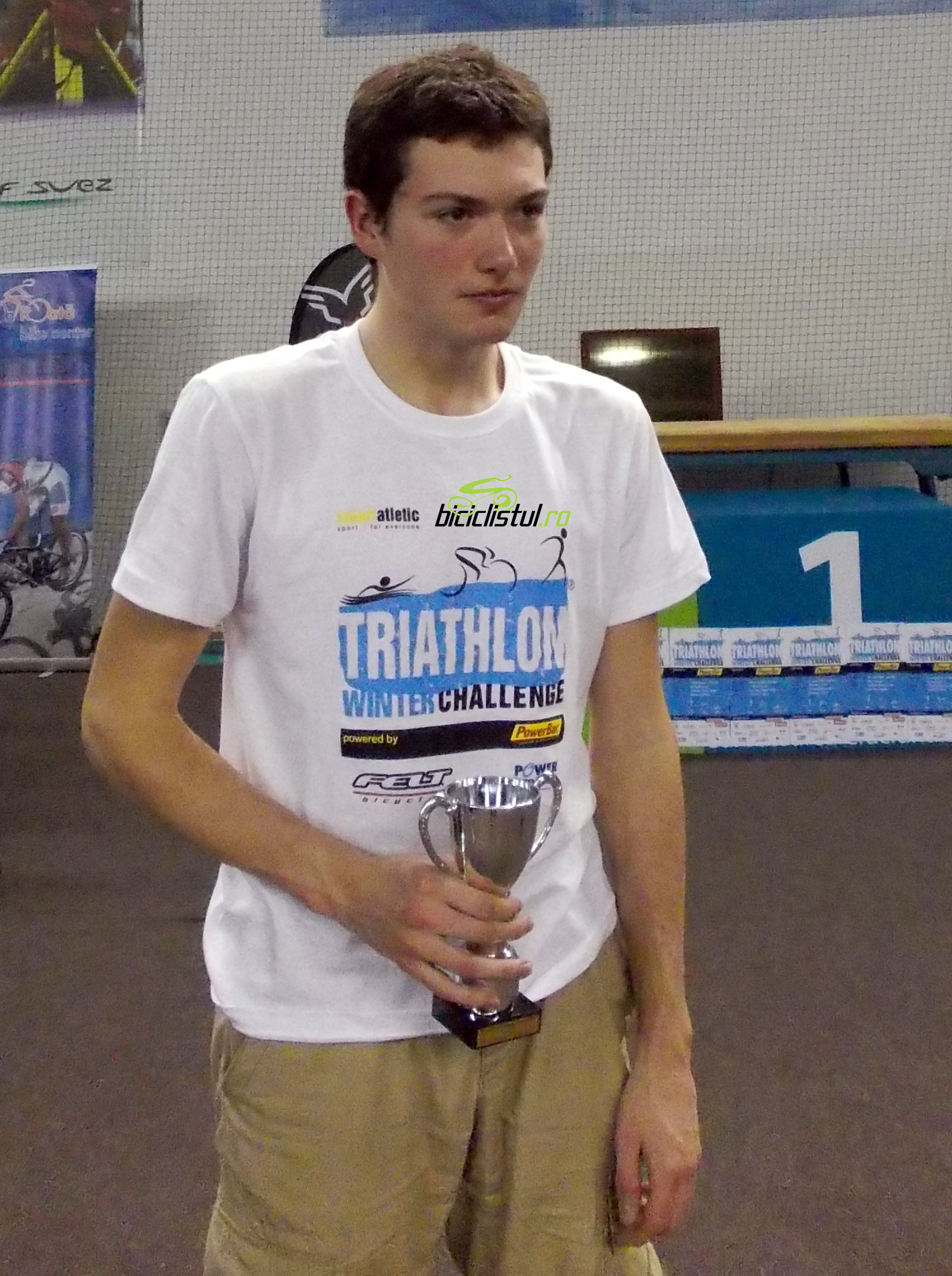 Cristian Lutic - Winter TriChallenge - Biciclistul