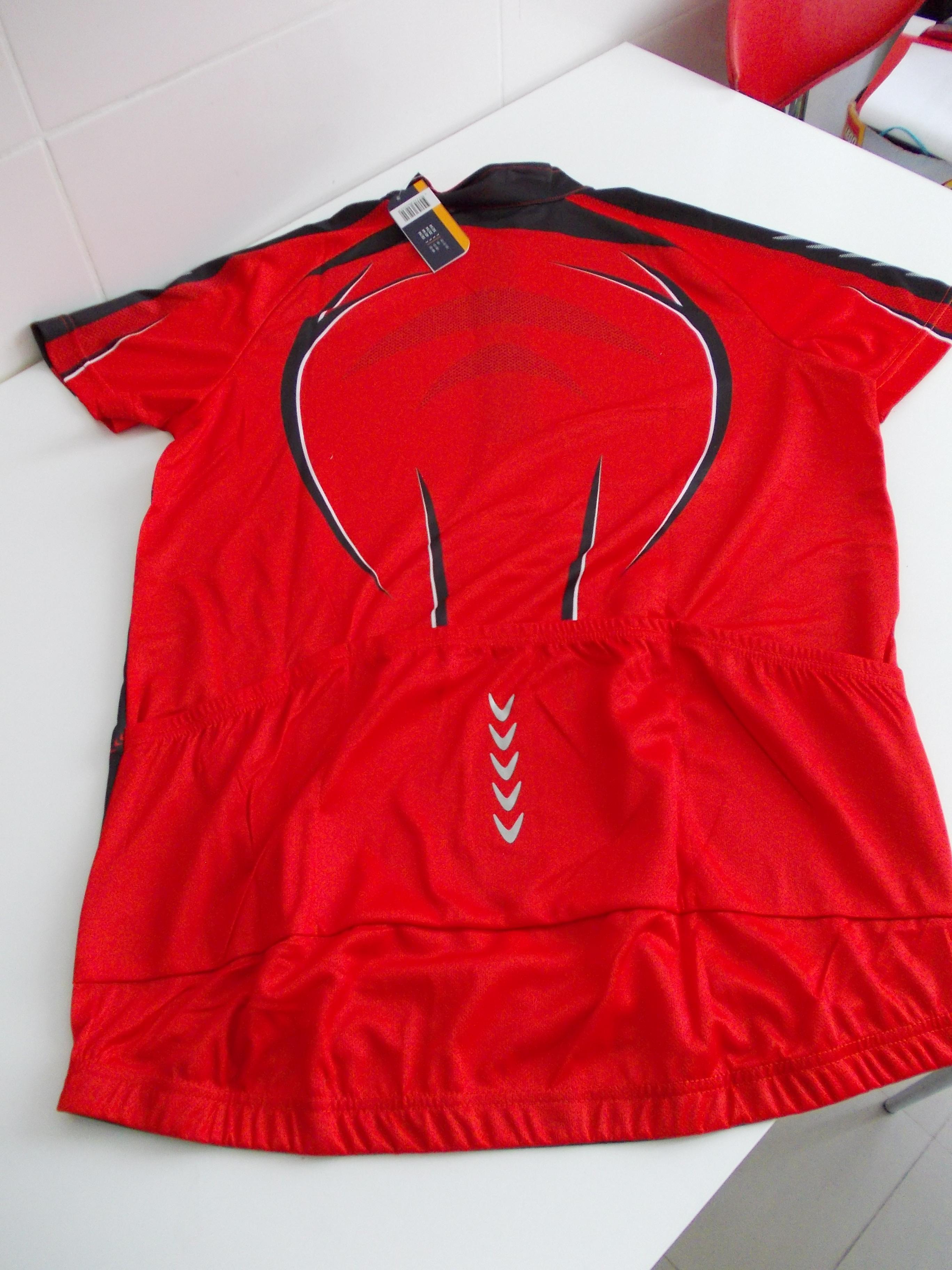 Tricou ciclism LIDL - spate