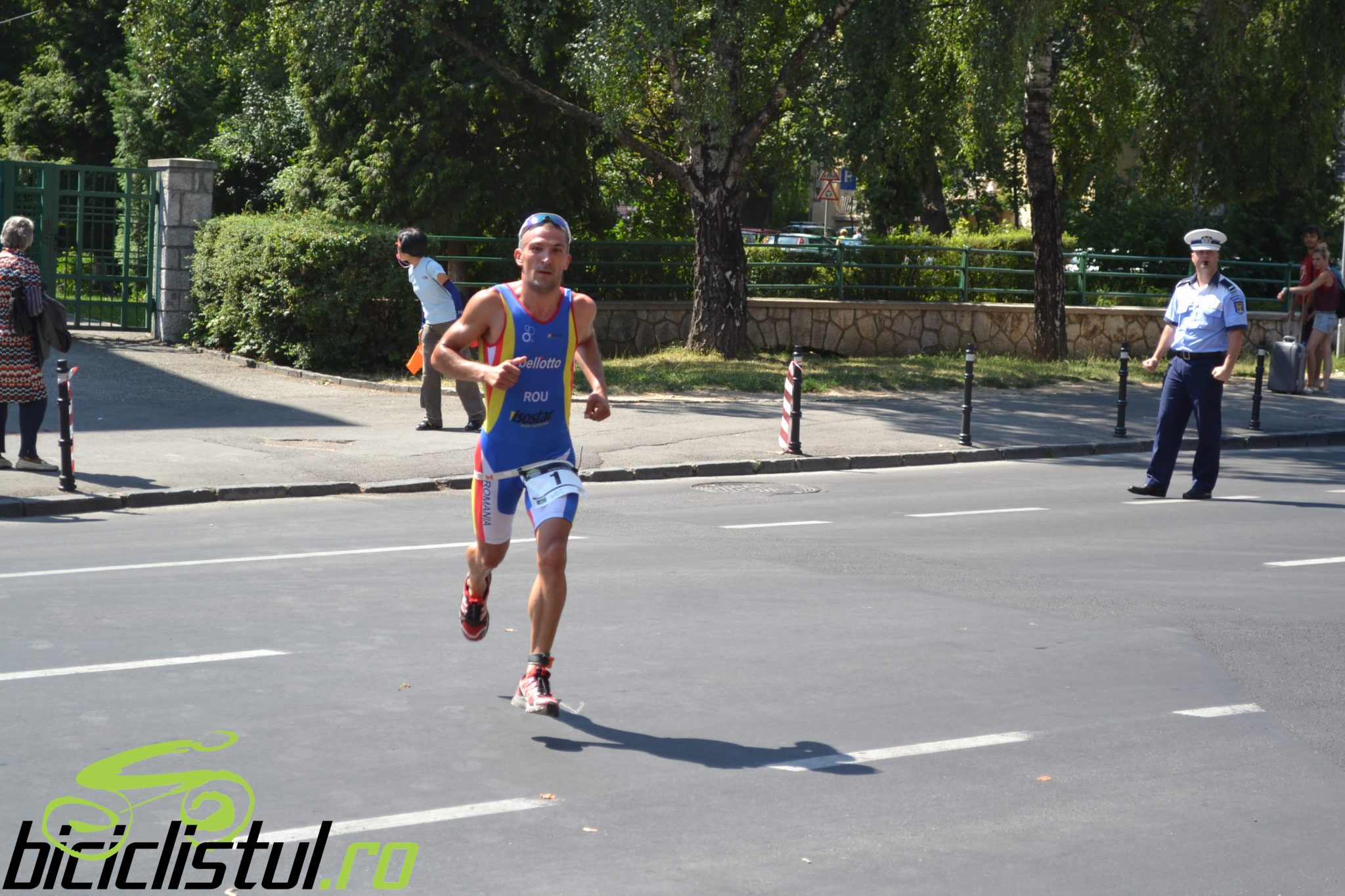 Ciprian Balanescu - alergare Brasov Triathlon
