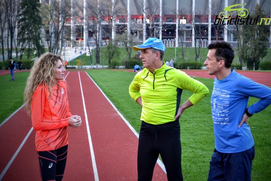 Constantina Diță Tomescu - antrenament cu Ștefan Oprina