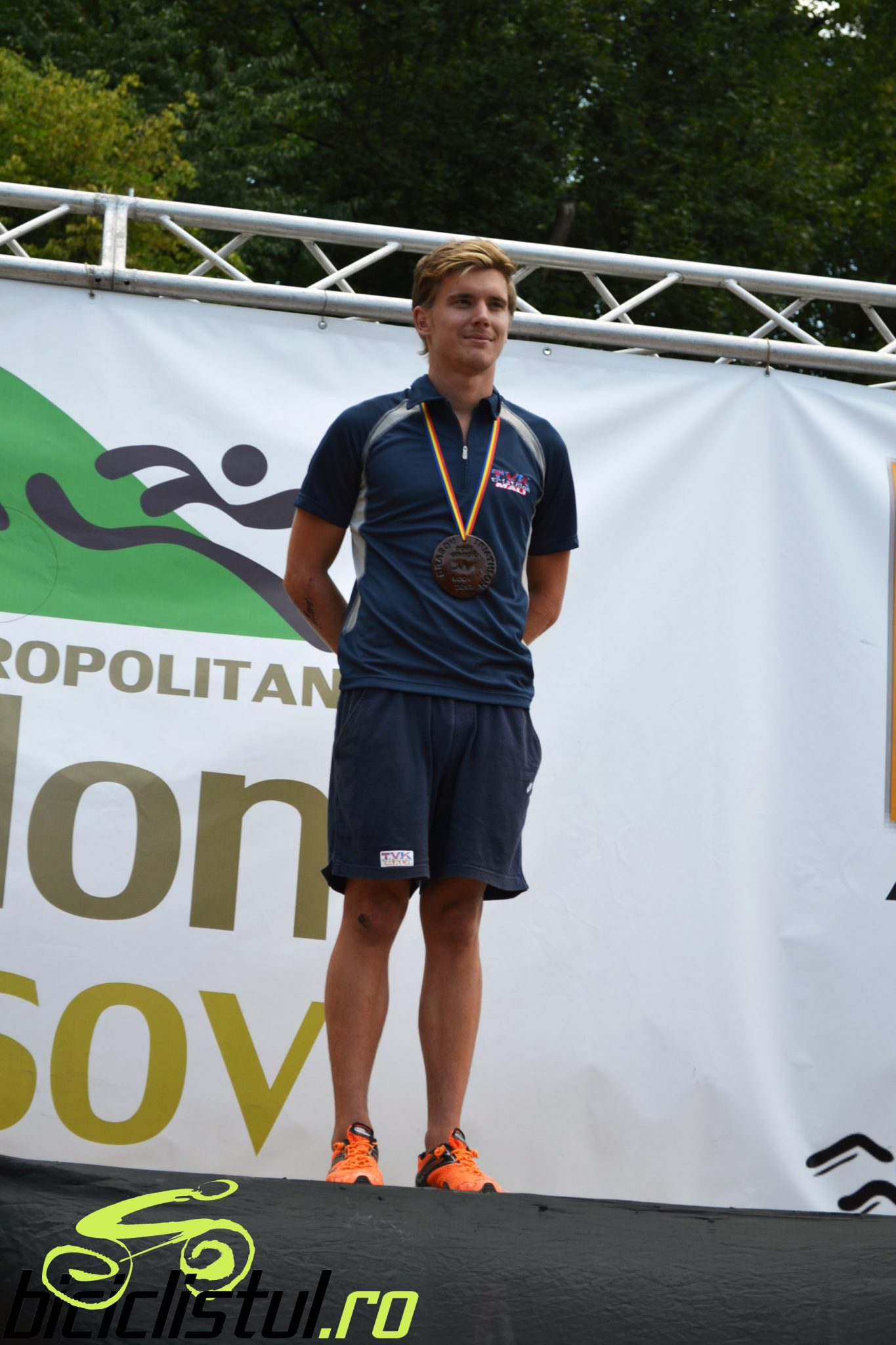 Balogh Bence - castigator Brasov Triathlon