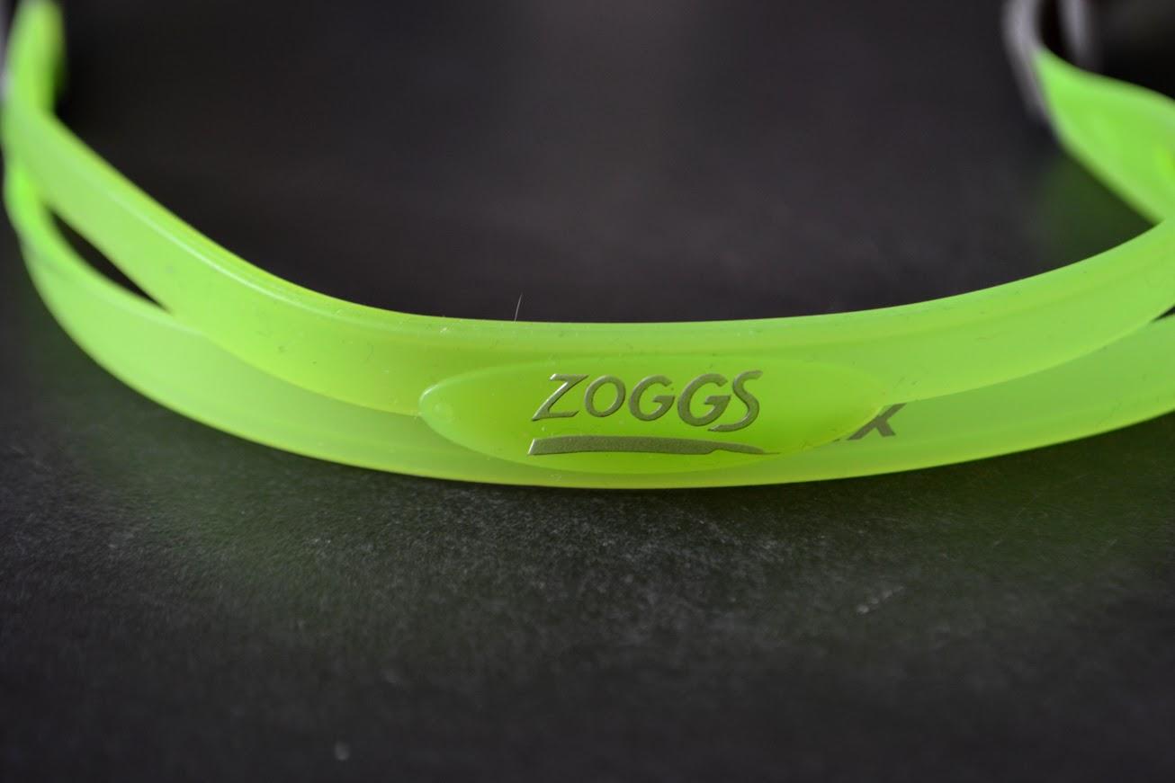Ochelari inot - Zoggs Aqua Flex Titanium - detaliu curea