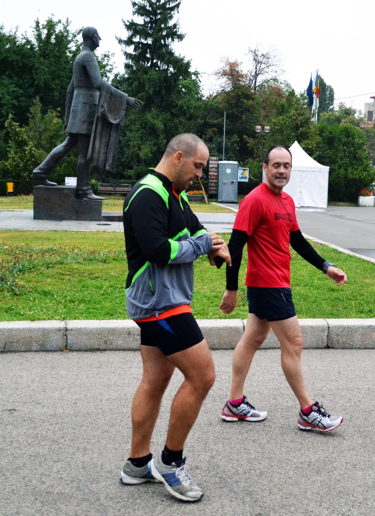 Inaki Berroeta - alergare finish Herastrau