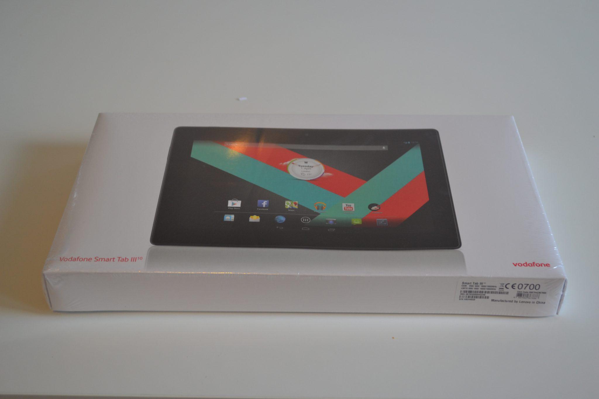 Vodafone Smart Tab III 10 - cutia