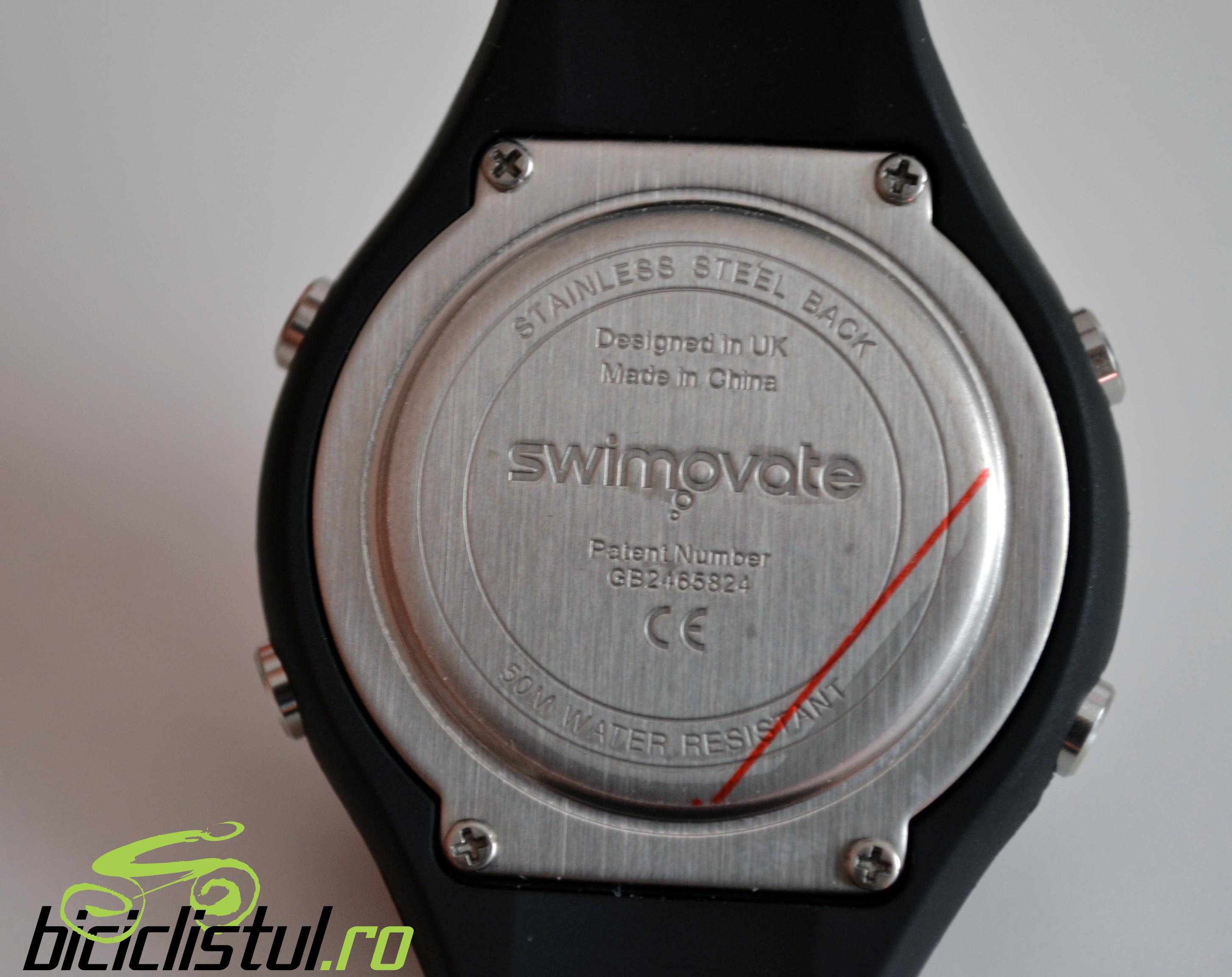 Swimovate Pool-Mate Pro - vedere spate