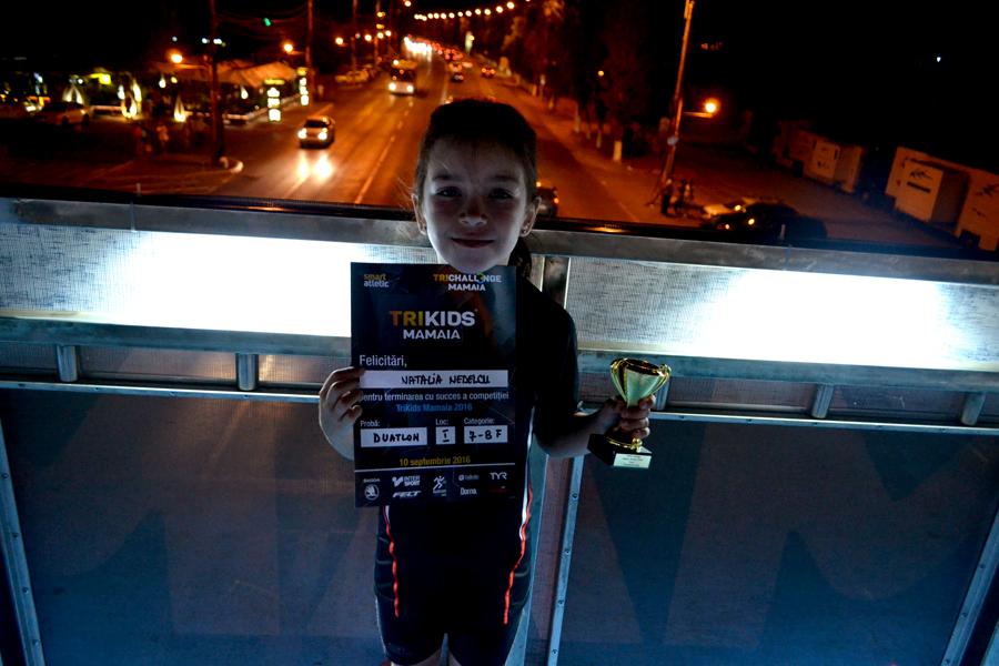 Natalia - locul 1 TriKids Challenge Mamaia