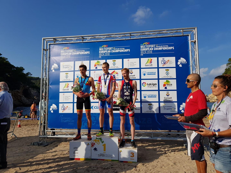 Daniel Attila locul 3 cross duathlon ibiza 2018