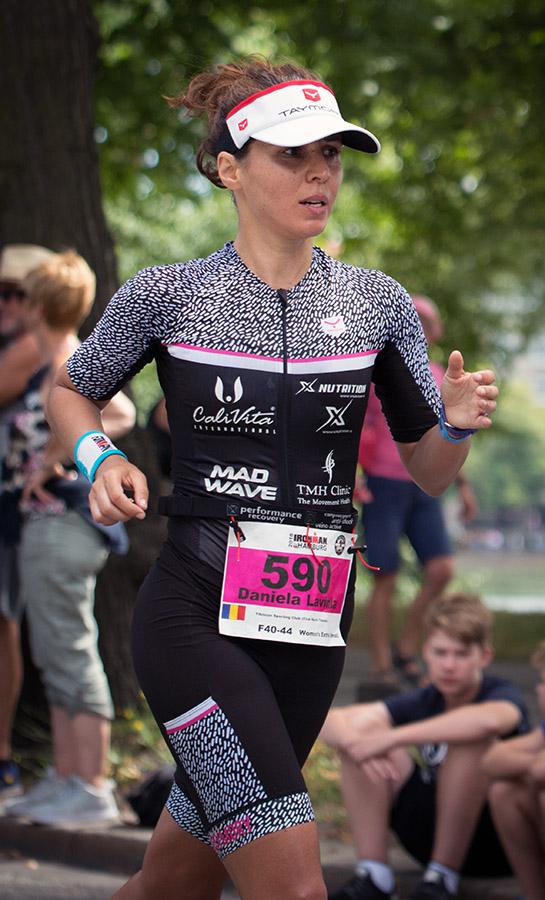 Daniela Torok, Ironman Hamburg 2018, proba de alergare