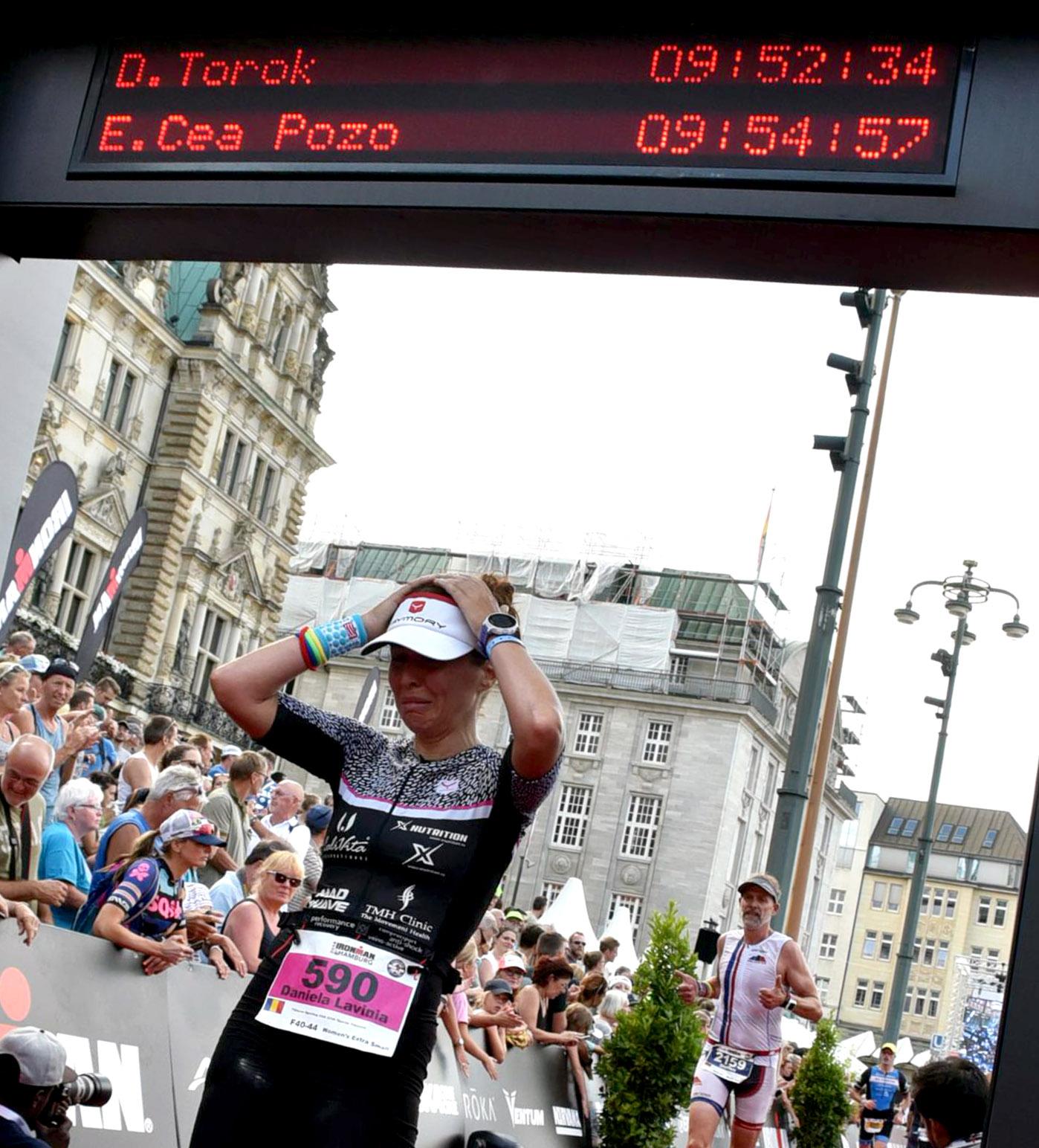 Daniela Torok - finish Ironman Hamburg 2018