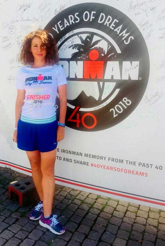 Daniela Torok - sigla Ironman