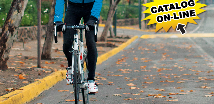 Decathlon catalog iarna biciclisti