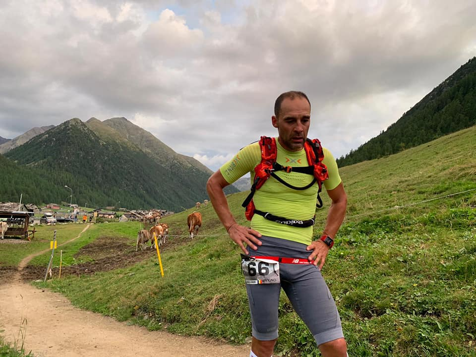 Dragoș Georgescu - ICON Livigno Xtrem Triathlon - proba de alergare