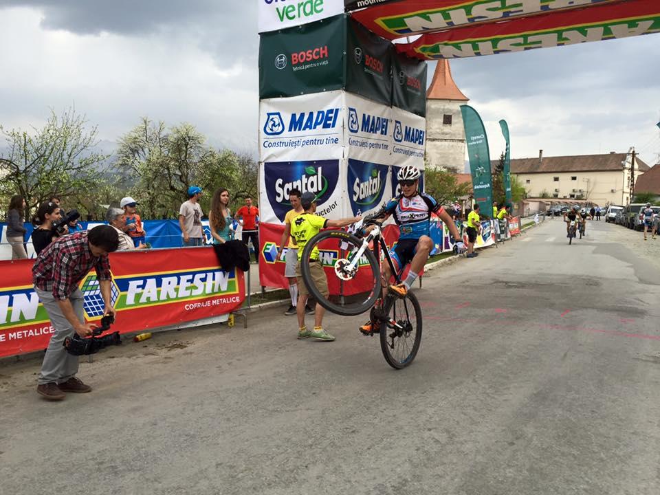 Ede Molnar - campion national MTB XCE