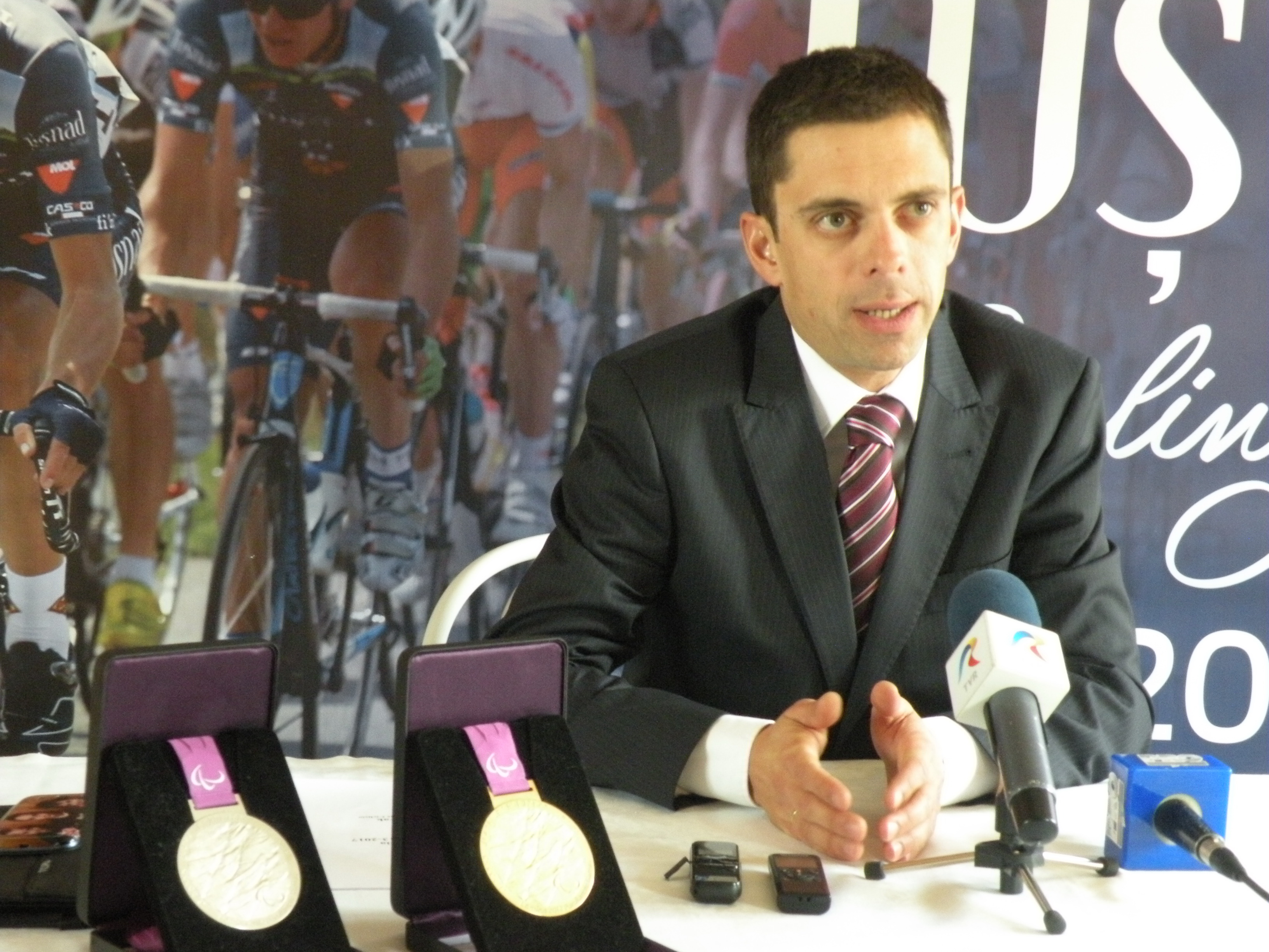 Eduard Novak conferinta Federatia Romana de Ciclism