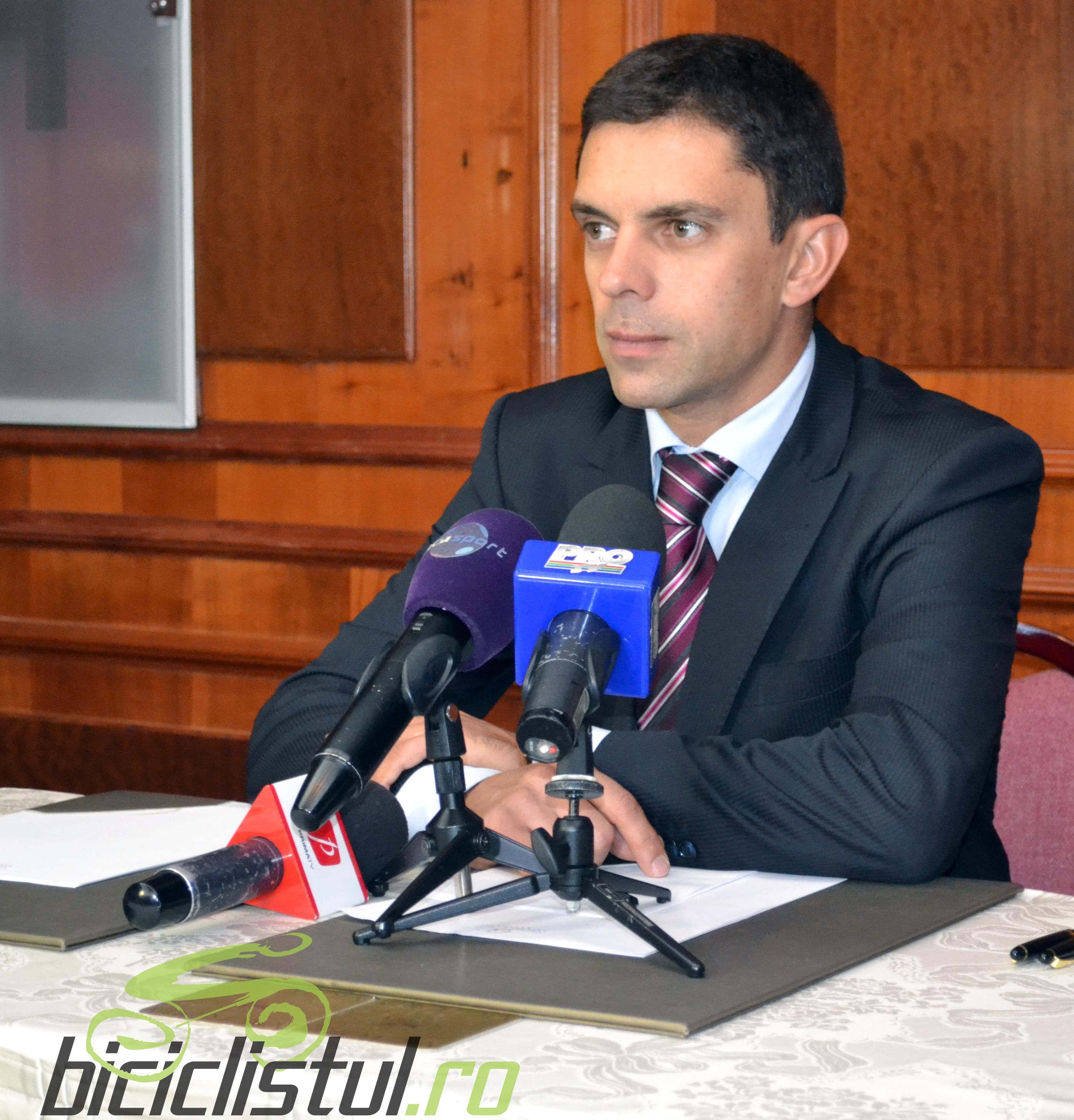 Eduard Novak - presedinte Federatia Romana de Ciclism