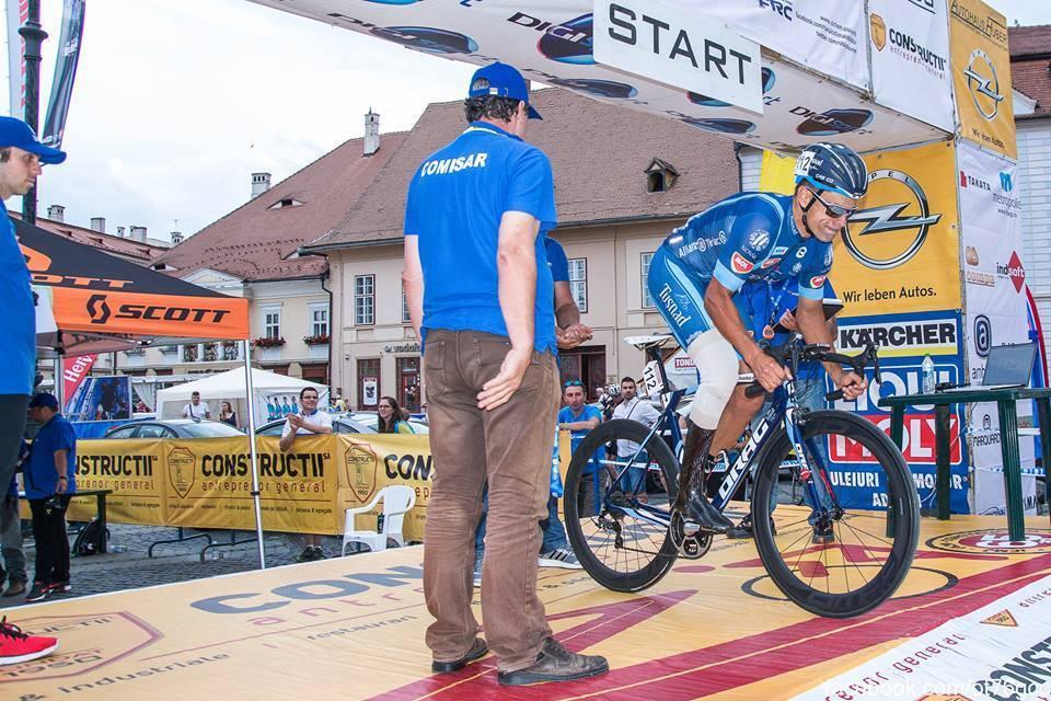 Eduard Novak - start in Turul Ciclist al Sibiului