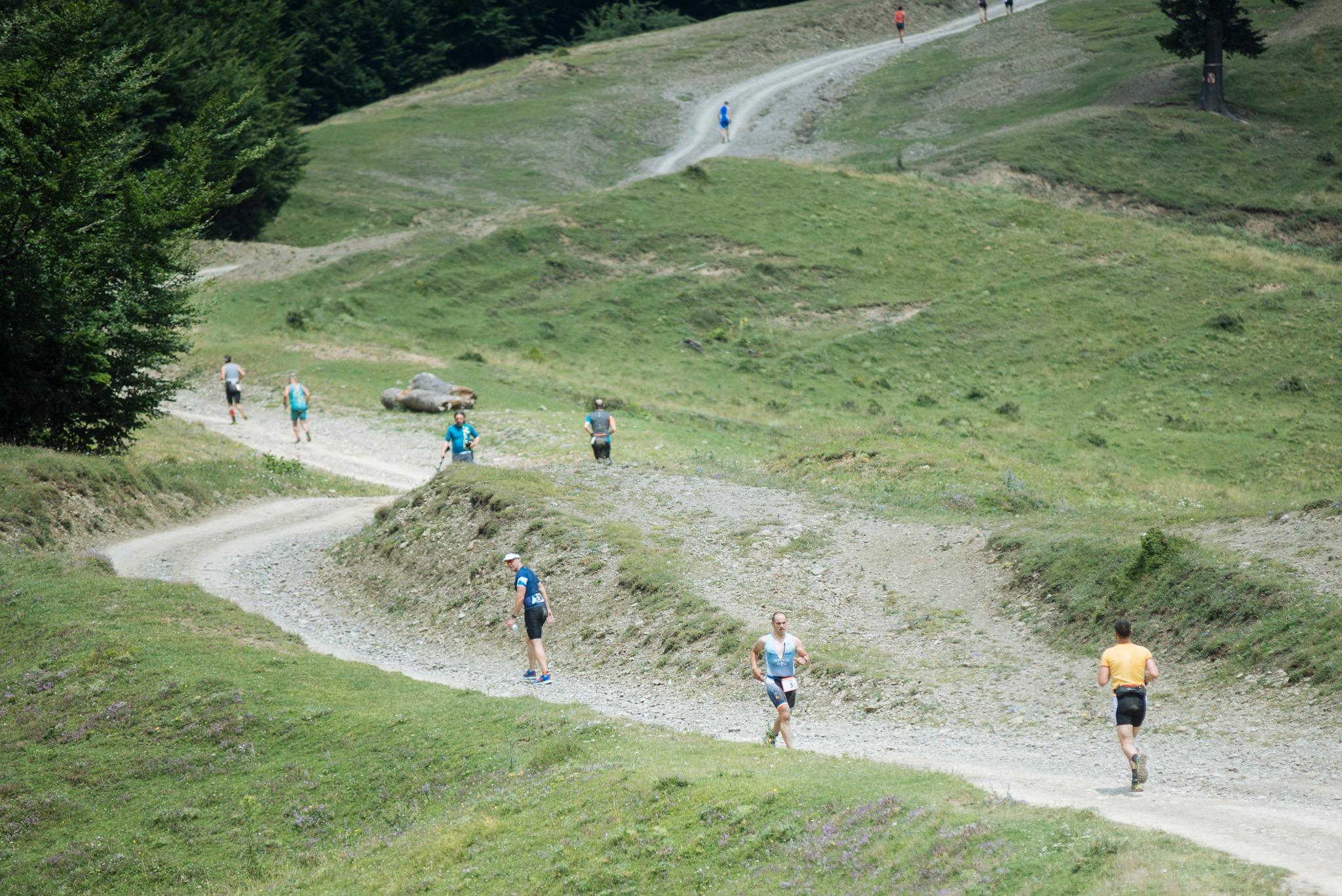Triatlon la munte -  alergare Emilian Nedelcu