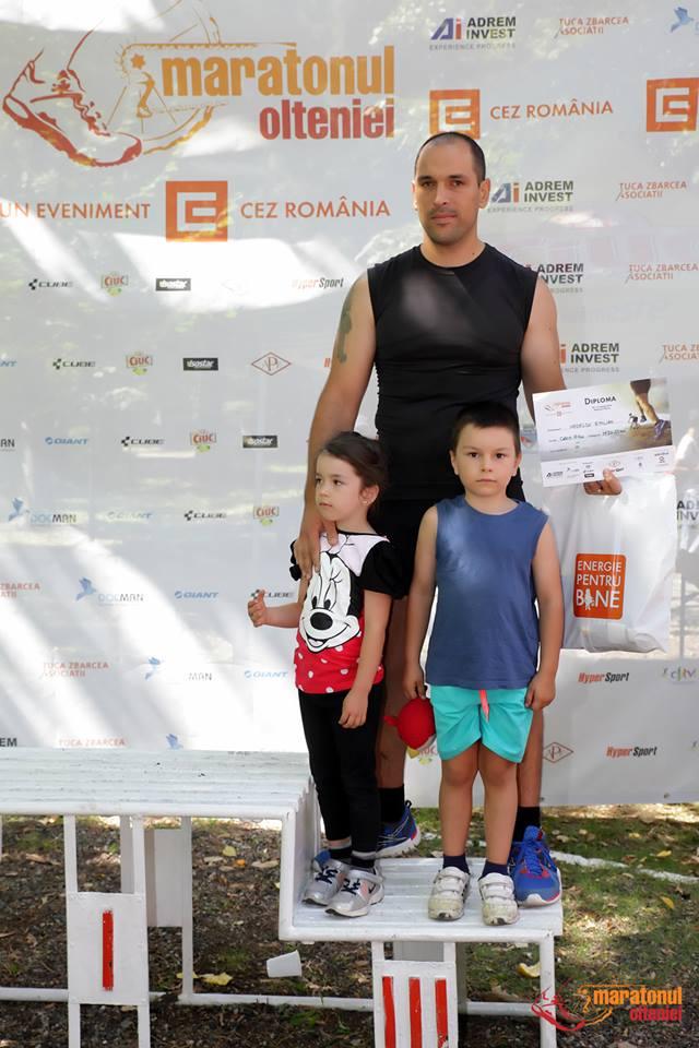 Emilian Nedelcu - locul 3 Maratonul Olteniei