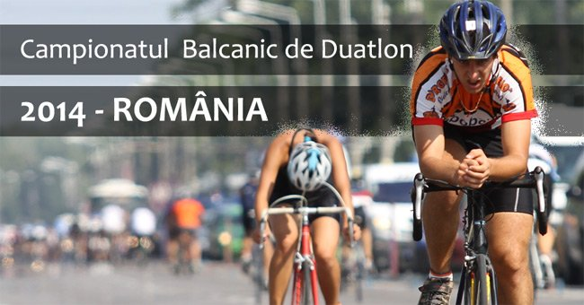 Federatia Romana de Triatlon - campionatul balcanic 2014
