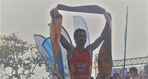 Felix Duchampt - castiga triatlon Cuba