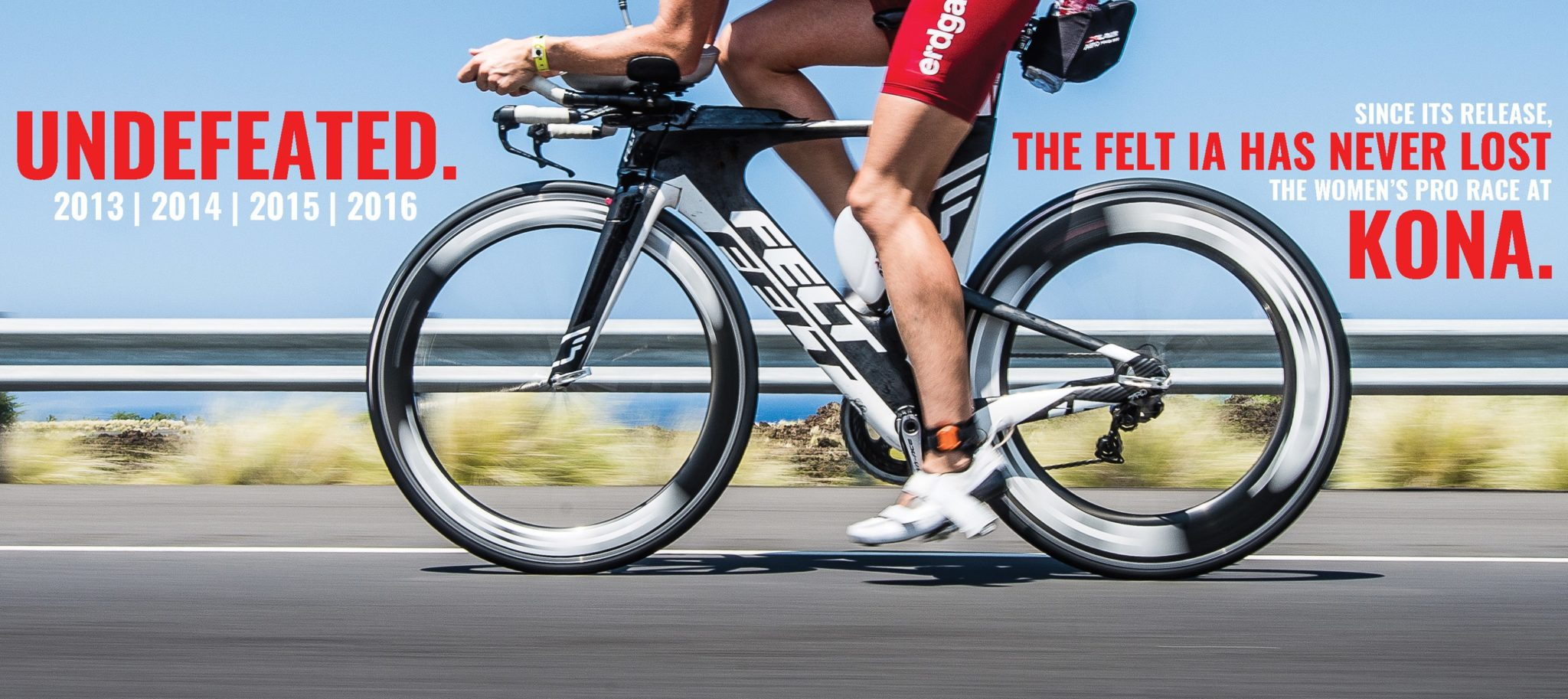 Felt IA - bicicleta numarul 1 la Ironman Kona