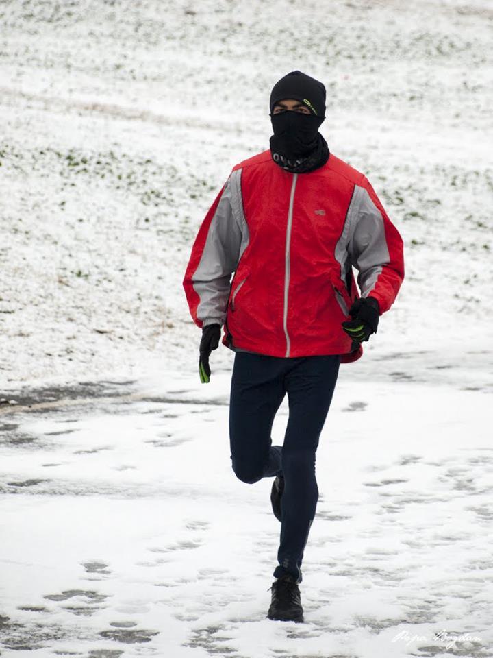 Florin Chindea - alergare iarna