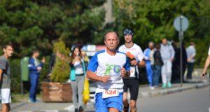 Florin Ionita, la un concurs de alergare din Plopeni
