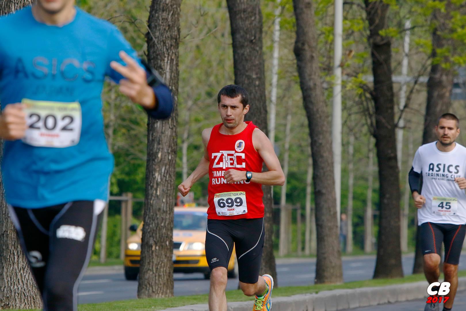 Florin Simion, Bucharest International 10K , în 2017.