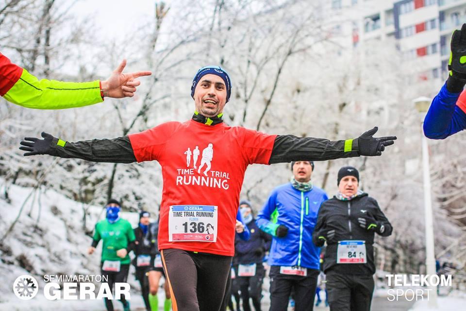 Florin Simion, Semimaraton Gerar 2019.