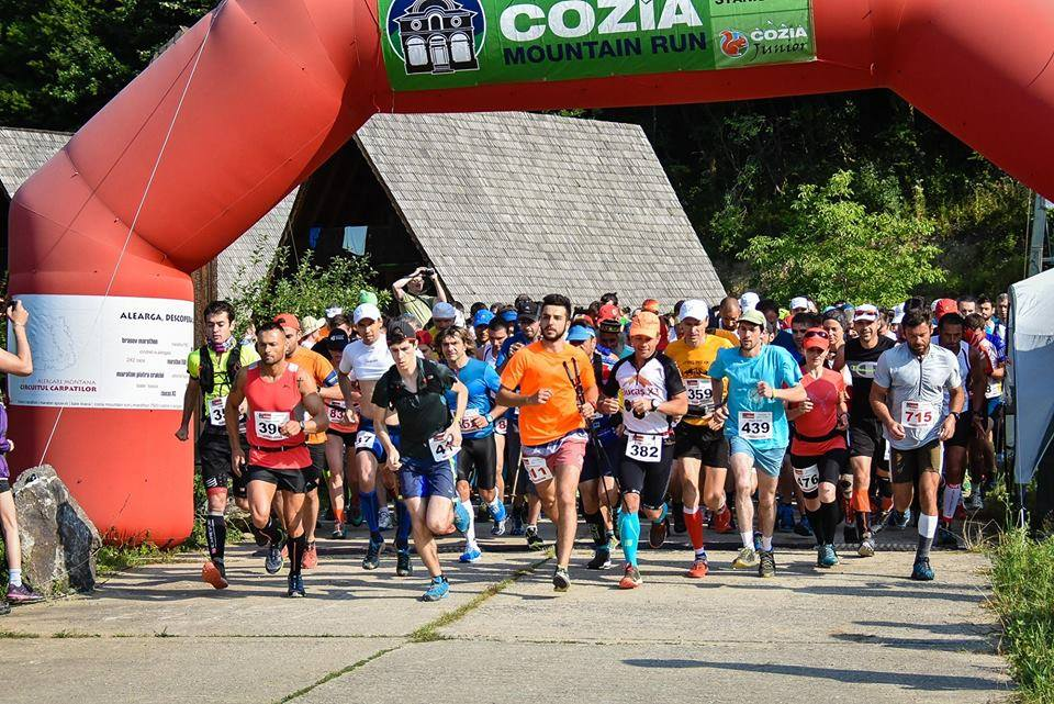 Start Cozia Mountain Run 2017