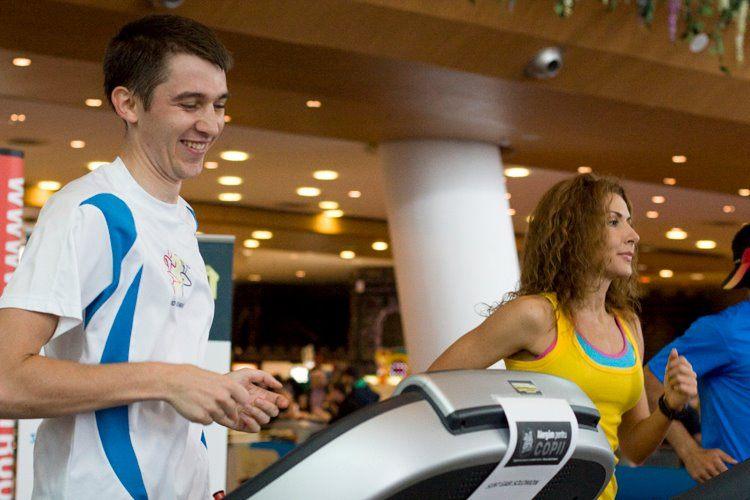 Gabriel Solomon alergare 24 ore - Carmen Bruma