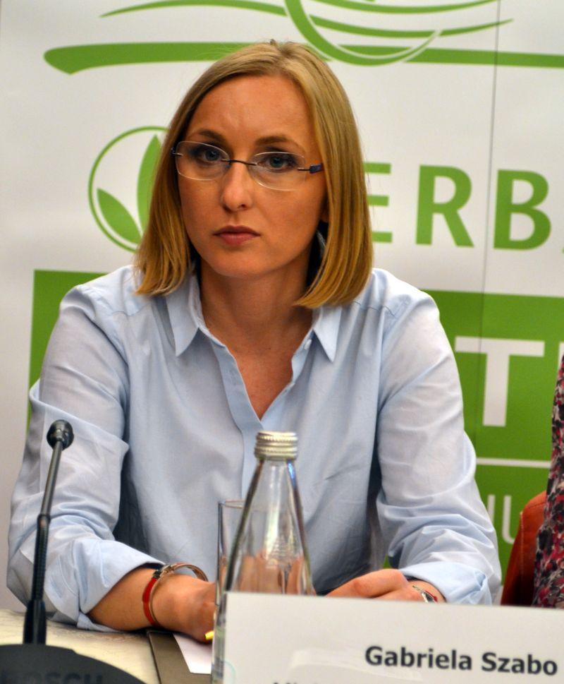 Gabriela Szabo - ministrul Tineretului si Sportului