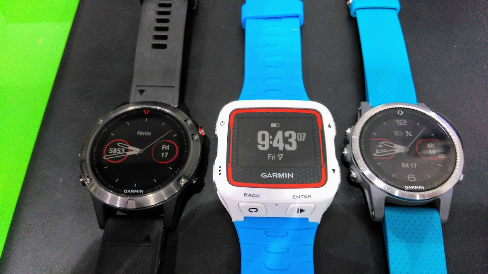 Garmin Fenix 5 - Garmin 920XT - Garmin Fenix 5S