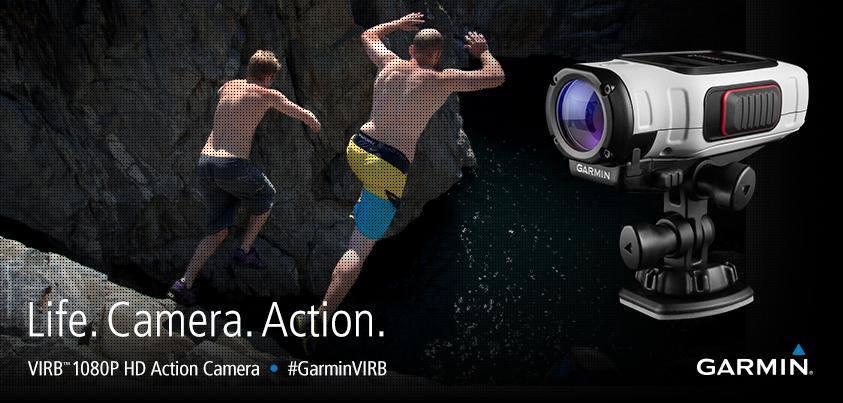 Garmin Virb Action Camera jump