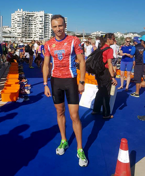 George Murar - ibiza aquathlon 2018