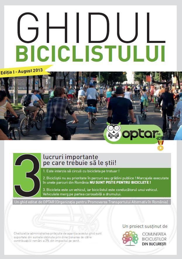 Ghidul Biciclistului - Optar