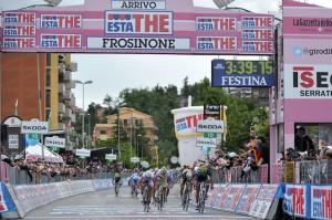 Giro d' Italia 2012 - Finish etapa 9