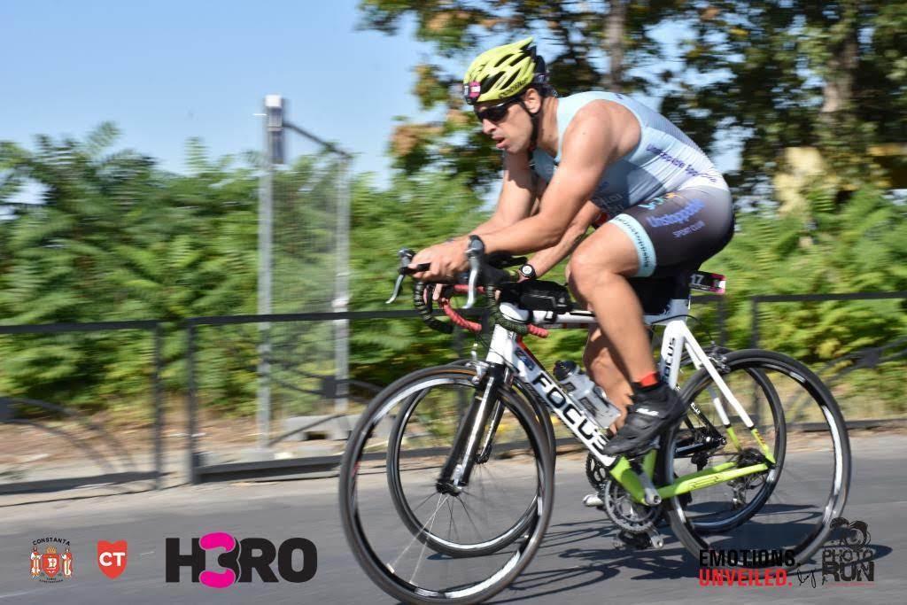 H3RO by TriChallenge 2019 - proba de ciclism Emilian Nedelcu